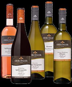 Ihringer Weinpaket Trocken mit zwölf Flaschen